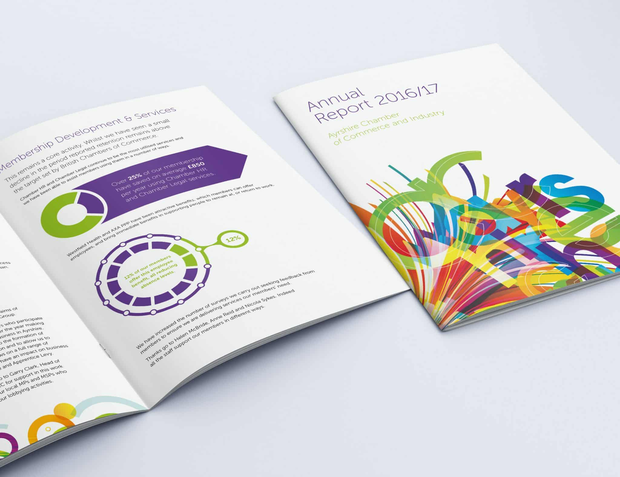 Ayrshire Cahmber Booklet Design