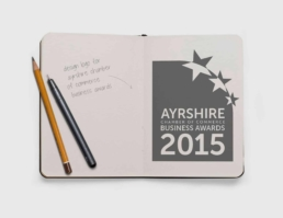 Ayrshire Chamber Awards Logo Design