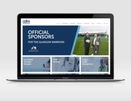 CDM Scotland Responsive Website Design