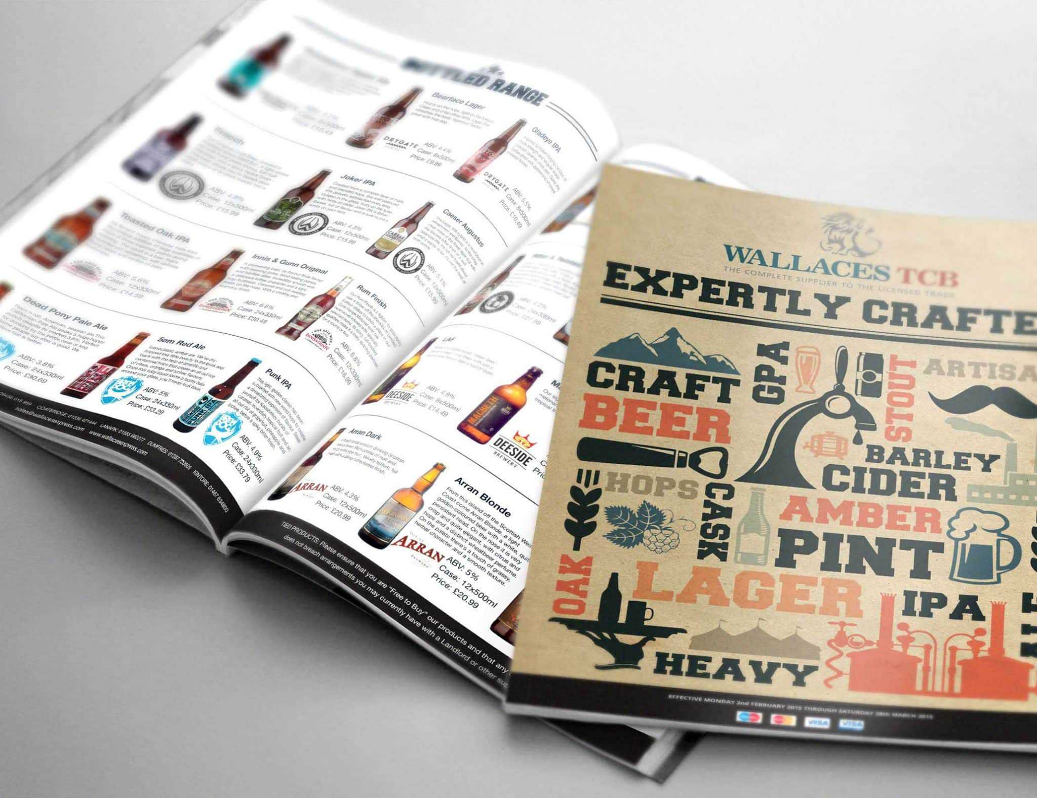 Tennent Caledonian Expertly Crafted Brochure Design