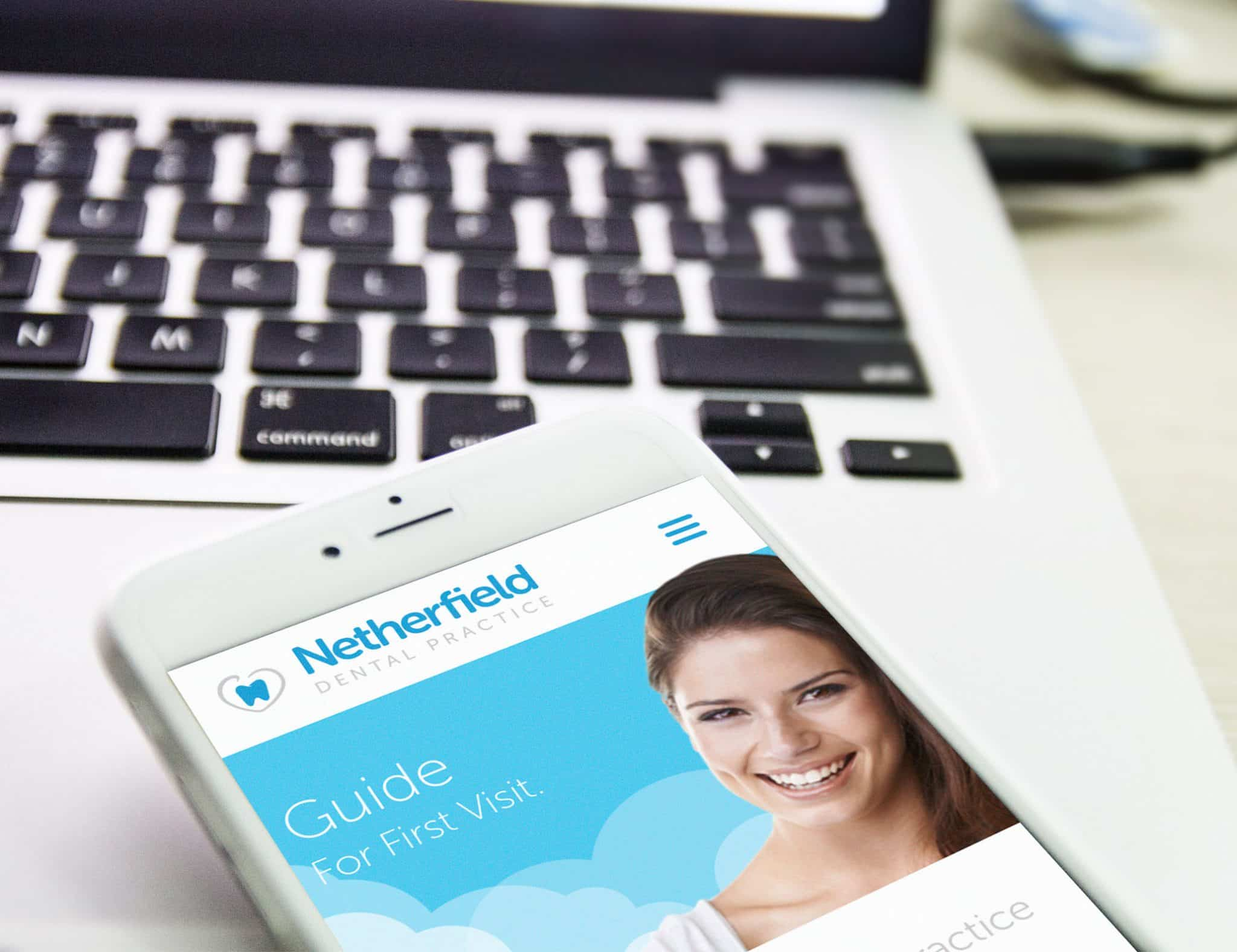 netherfield mobile site design