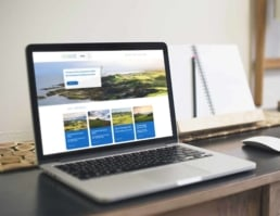 proscot golf website design