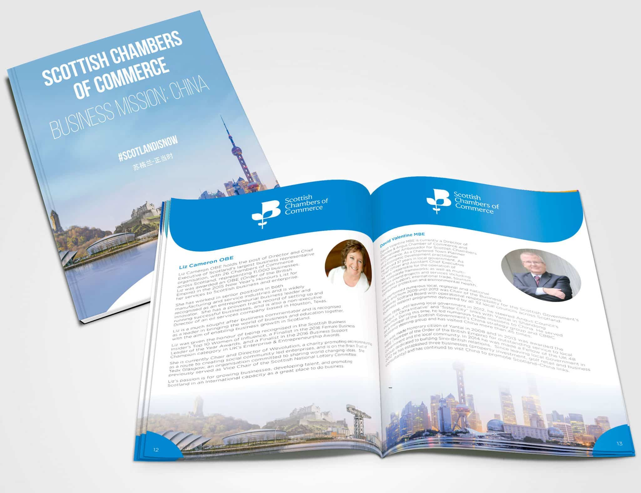 Scottish Chambers Brochure Design